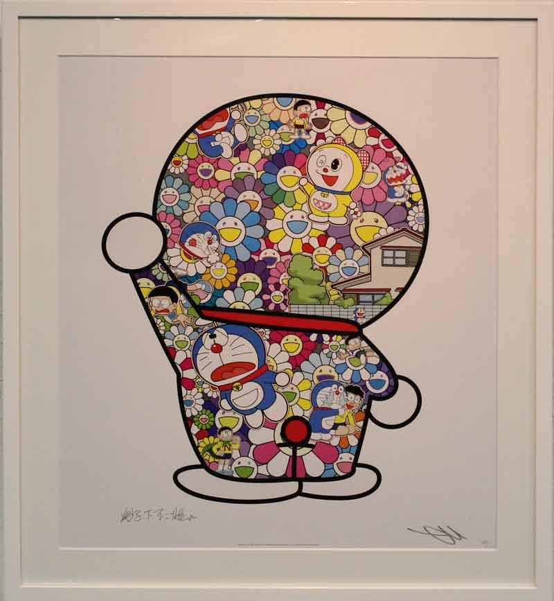 お花畑の中のドラえもん (Doraemon in the Field of Flower)